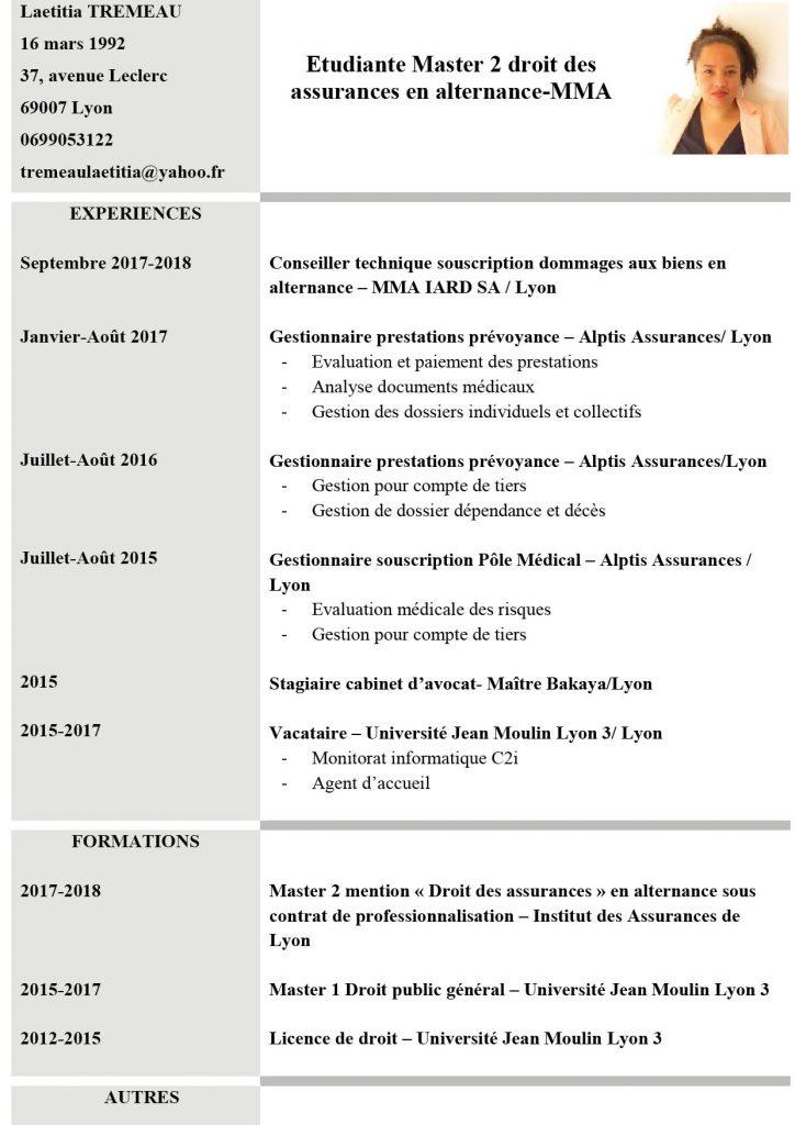 IAL   CV des etudiants de l'institut